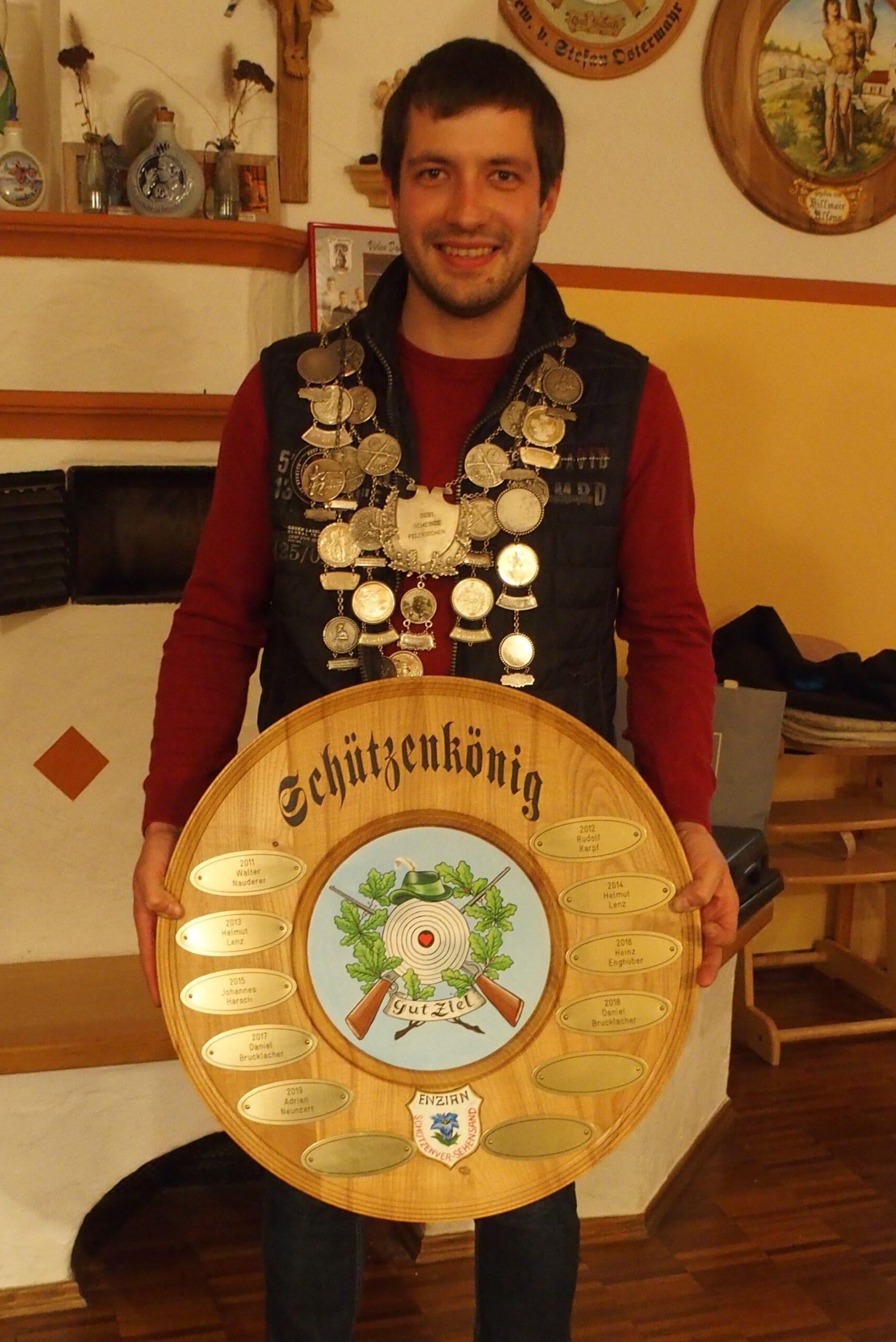 Schuetzenkönig-Daniel